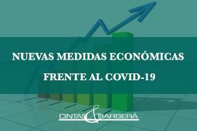 Nuevas medidas económicas frente al Coronavirus